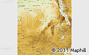 Physical Map of Shaba