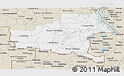 Classic Style Panoramic Map of Shaba