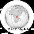 Outline Map of Tanganika
