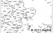 Blank Simple Map of Arhus