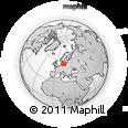 Outline Map of Allinge-Gudhjem