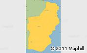 Savanna Style Simple Map of Nexo