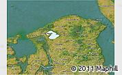 Satellite 3D Map of Frederiksborg