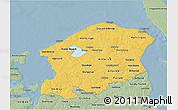Savanna Style 3D Map of Frederiksborg
