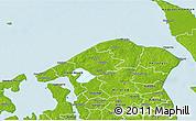 Physical 3D Map of Helsinge