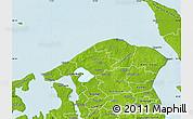Physical Map of Helsinge