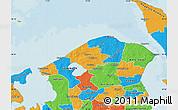 Political Map of Helsinge