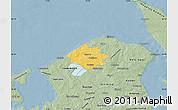 Savanna Style Map of Helsinge