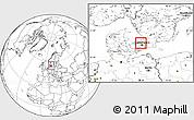 Blank Location Map of Karlebo