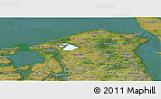 Satellite Panoramic Map of Frederiksborg
