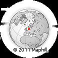 Outline Map of Arslev