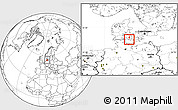 Blank Location Map of Marstal