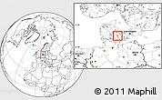 Blank Location Map of Nyborg