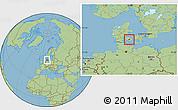 Savanna Style Location Map of Ringe