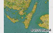 Satellite Map of Rudkobing