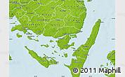 Physical Map of Svendborg
