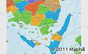 Political Map of Svendborg
