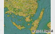 Satellite Map of Svendborg