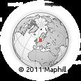 Outline Map of Ullerslev