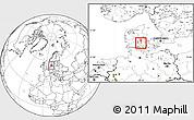 Blank Location Map of Vissenbjerg