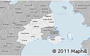 Gray 3D Map of Kobenhavn