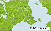 Physical 3D Map of Kobenhavn