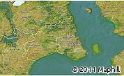 Satellite 3D Map of Kobenhavn
