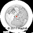 Outline Map of Ballerup