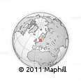 Outline Map of Gentofte