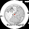 Outline Map of Gladsakse