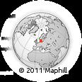 Outline Map of Herlev