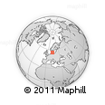 Outline Map of Ishoj