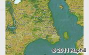 Satellite Map of Kobenhavn