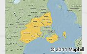 Savanna Style Map of Kobenhavn