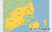 Savanna Style Simple Map of Kobenhavn