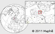 Blank Location Map of Varlose