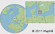 Savanna Style Location Map of Varlose