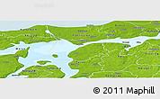 Physical Panoramic Map of Logstor