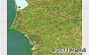 Satellite 3D Map of Ribe