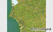 Satellite Map of Ribe
