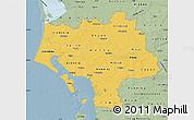 Savanna Style Map of Ribe