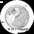 Outline Map of Ringkobing