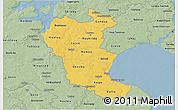 Savanna Style 3D Map of Roskilde