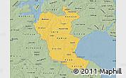 Savanna Style Map of Roskilde