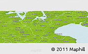 Physical Panoramic Map of Roskilde