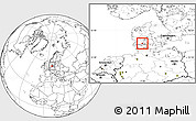 Blank Location Map of Aabenraa