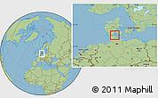 Savanna Style Location Map of Broager