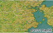 Satellite 3D Map of Christiansfeld