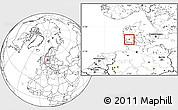 Blank Location Map of Gram