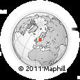 Outline Map of Haderslev